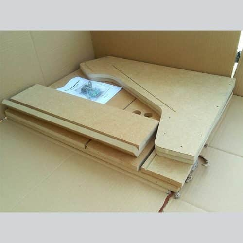 Package Bartop dismantled