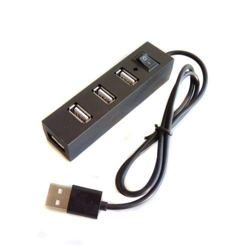 Hub USB 4 puertos con interruptor