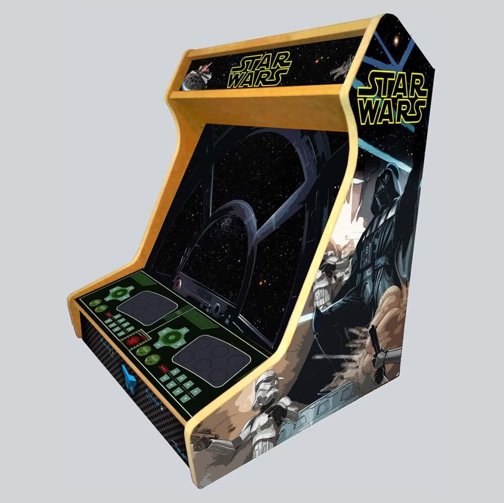 Arcade Bartop Cabinet Mdf Board Stickers