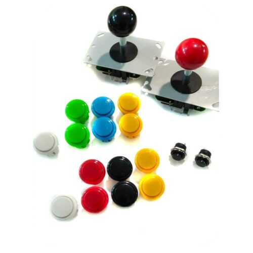 Kit controles arcade para 2 jugadores. Tipo Sanwa