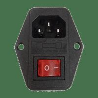 conector de alimentación configurador
