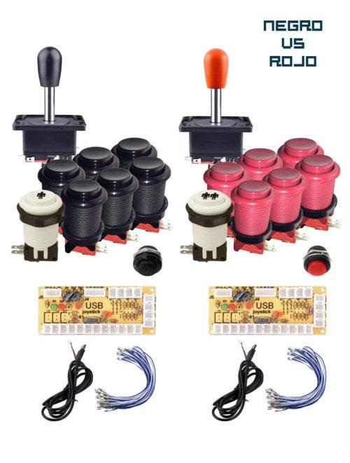 181015 Kits negro vs rojo