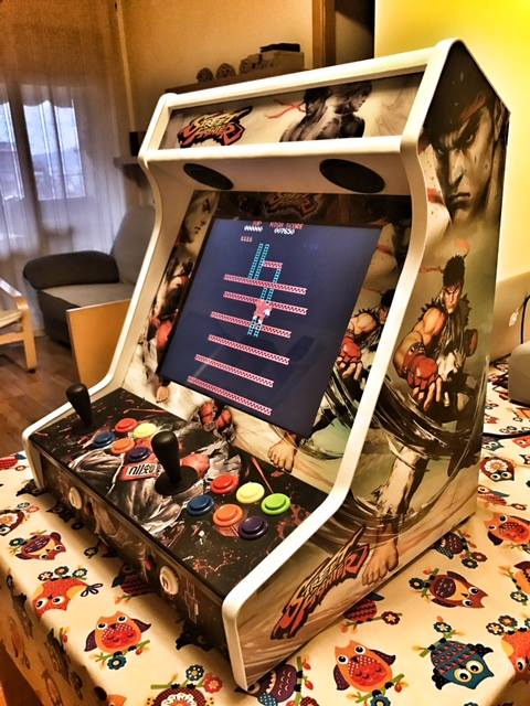 Bartop Street fighters personalizzata 19″