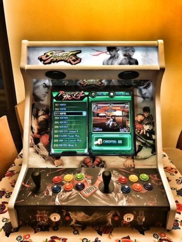 "181020 Arcade bartop Street fighters personalizada2 375x500 - Bartop Street fighters personalizada 19"" -"
