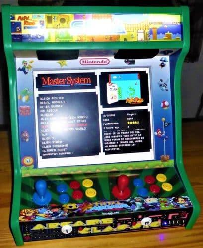 """181020 Bartop TALENTEC personalizada5 409x500 - Bartop TALENTEC personalizzata 19"""" -"""