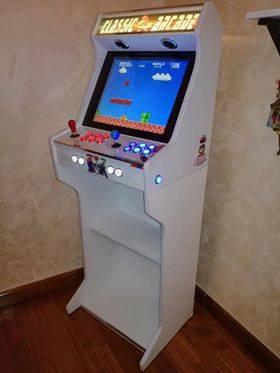 181021 Arcade bartop pedestal personalizado
