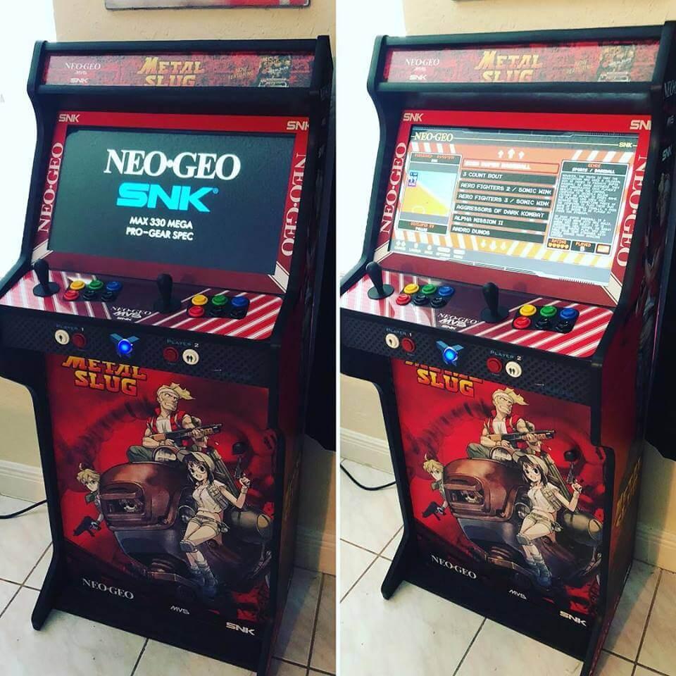 """181021 Arcade completa NeoGeo Metal Slug TALENTEC 24in 2 - Arcade completa Metal Slug TALENTEC 24"""" -"""