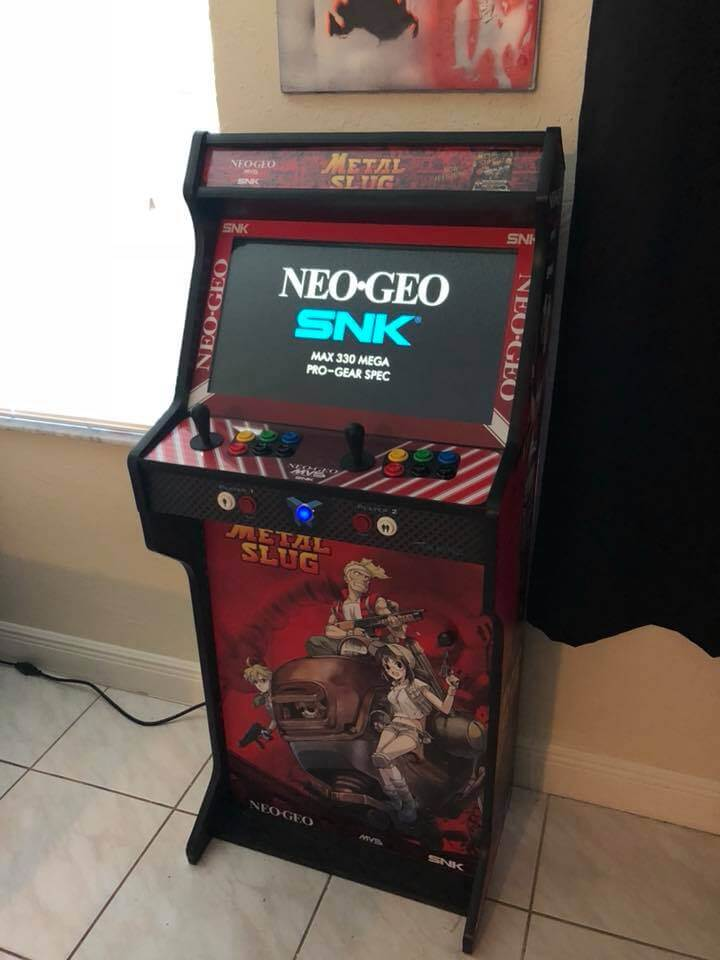 """181021 Arcade completa NeoGeo Metal Slug TALENTEC 24in 3 - Arcade completa Metal Slug TALENTEC 24"""" -"""