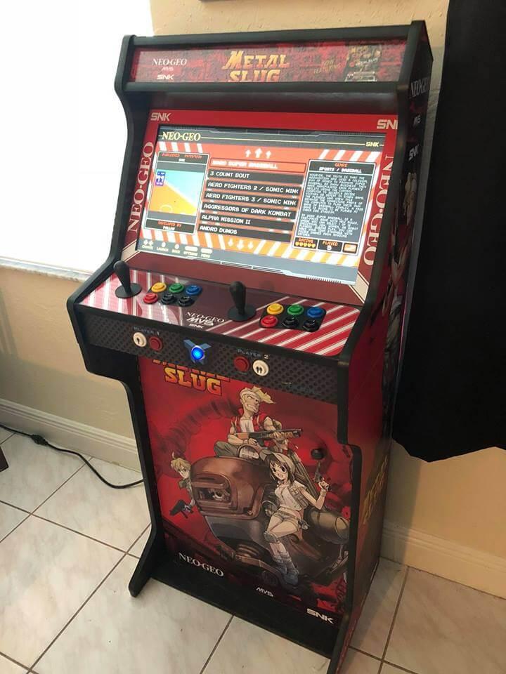 Arcade completa Metal Slug TALENTEC 24″