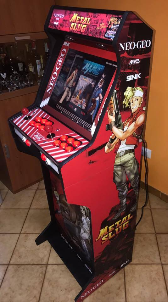 Bartop + socle Metal Slug Neo Geo 19in
