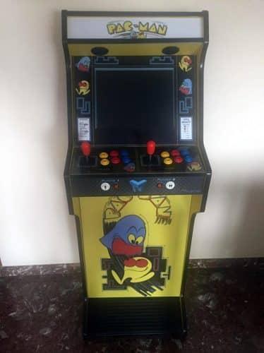 """181021 Bartop pedestal PacMan 19 374x500 - Bartop + socle PacMan 19"""" -"""