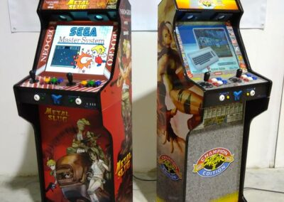 Full Bartops TAENTEC Metal Slug and Street Fighters 19″