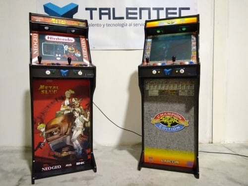 "181021 Bartop pedestal TALENTEC Metal Slug Street fighters3 500x375 - Full Bartops TAENTEC Metal Slug and Street Fighters 19"" -"