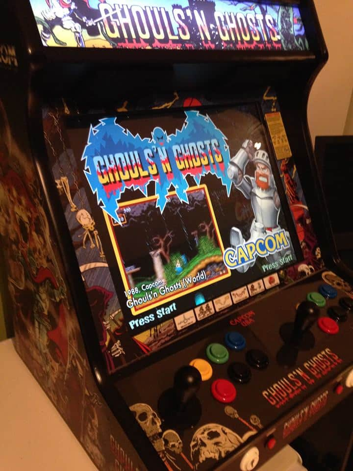 Bartop Ghouls'n Ghosts 19″