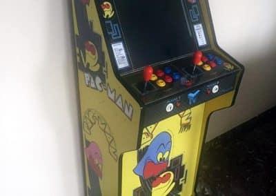 Bartop + pedestal PacMan 19″