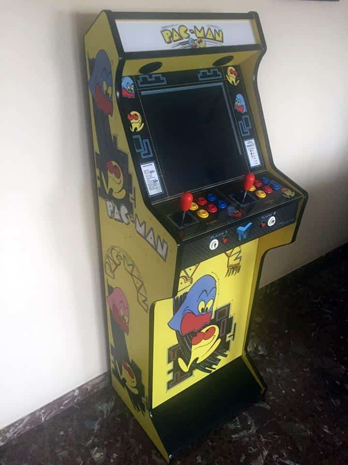 Bartop + stand PacMan 19″