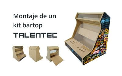 Unboxing and assembly Bartop TALENTEC Kit: DIY Tutorial step by step (videotutorial)