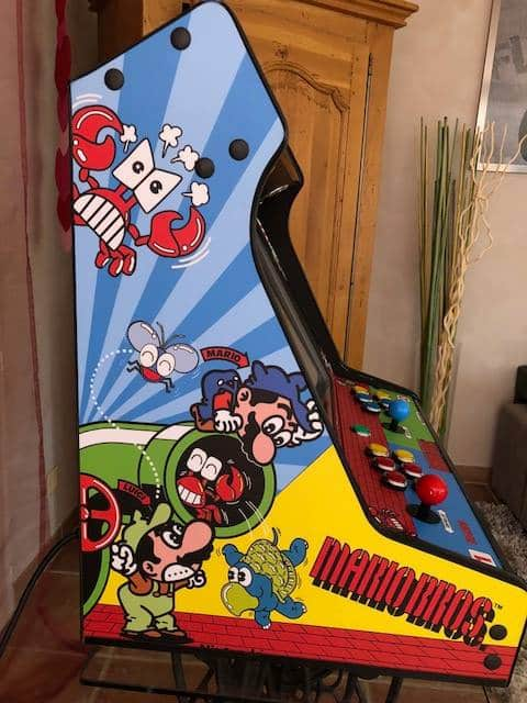 """181119 Bartop Mario Bros 2 - Bartop TALENTEC 24"""" de Mario Bros -"""