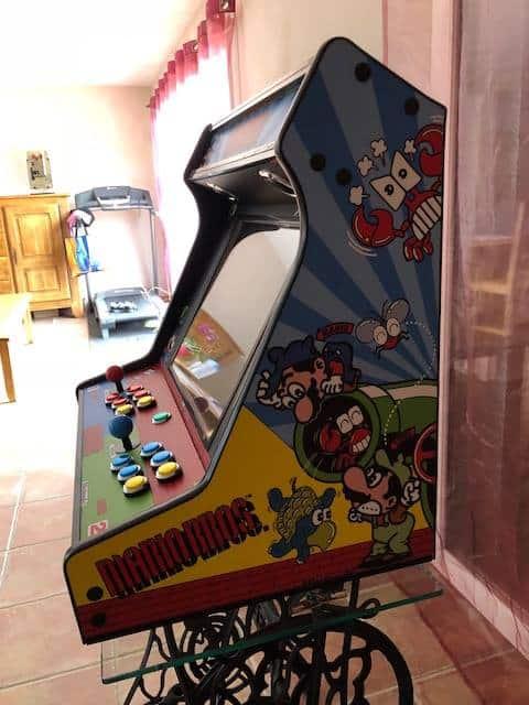 """181119 Bartop Mario Bros 3 - Bartop TALENTEC 24"""" de Mario Bros -"""