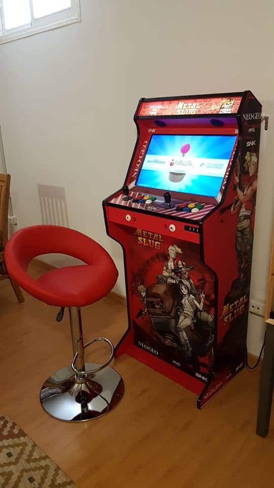 Bartop + Socle TALENTEC 24″ Metal Slug design