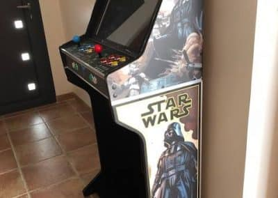 Bartop 24″ + open stand with Star Wars design
