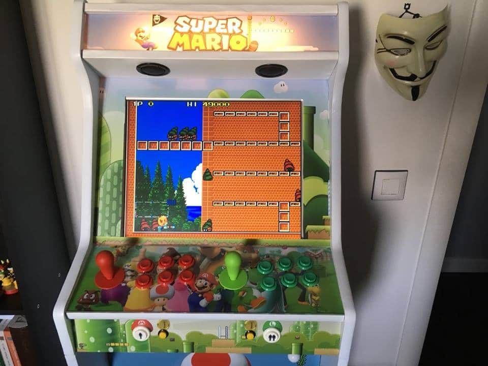 181119 Bartop pedestal Super Mario 3