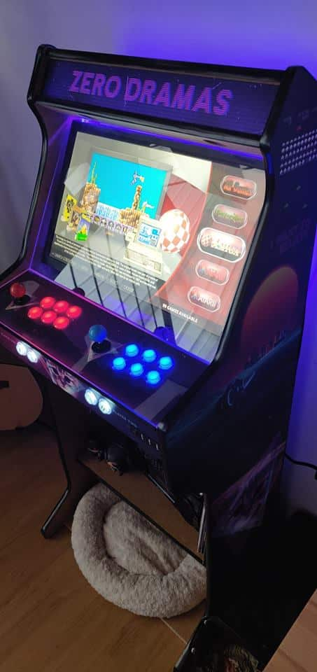 Bartop + 24″ stand with custom design
