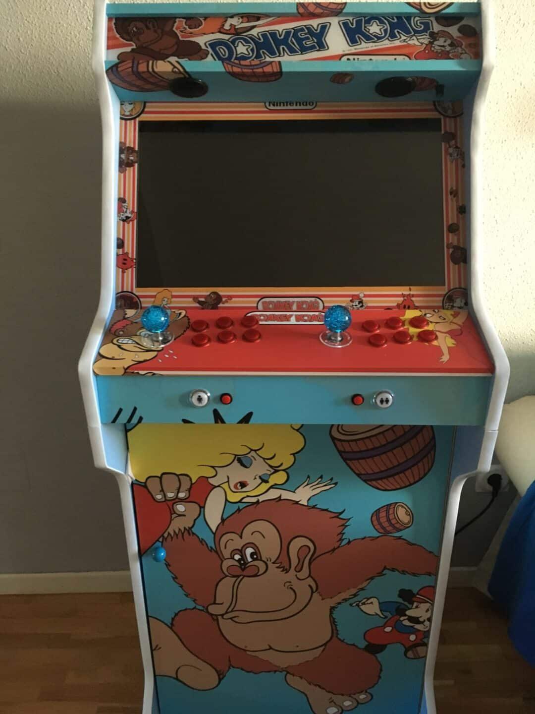 Bartop + Stand with custom design by Donkey Kong