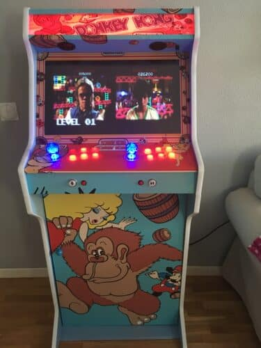 IMG 2666 375x500 - Bartop + Stand with custom design by Donkey Kong -