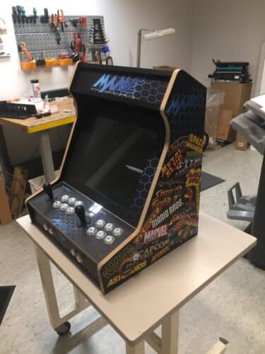 IMG 9733 375x500 - Bartop kit with MAME design -