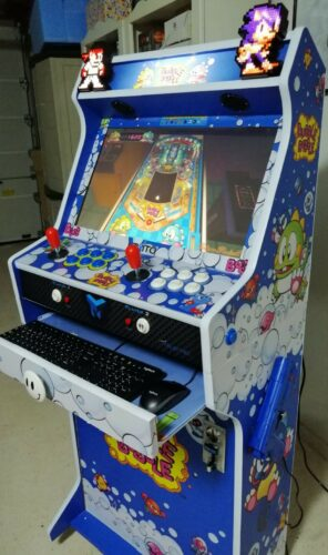 "WhatsApp Image 2018 12 12 at 19.31.171 296x500 - Bartop + Socle 24"" avec Bubble Bobble design -"