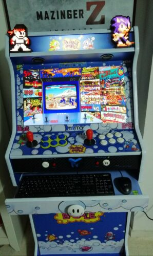 "WhatsApp Image 2018 12 12 at 19.31.181 298x500 - Bartop + Socle 24"" avec Bubble Bobble design -"