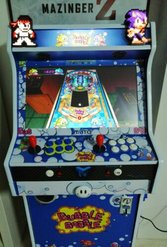 "WhatsApp Image 2018 12 12 at 19.31.182 338x500 - Bartop + Socle 24"" avec Bubble Bobble design -"