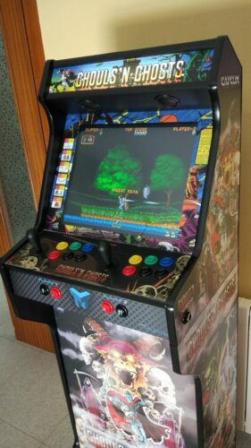 IMG 20190102 141516 969 281x500 - Bartop + socle avec Ghost and Goblins -