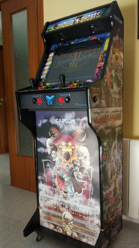 IMG 20190102 141526 506 281x500 - Bartop + socle avec Ghost and Goblins -