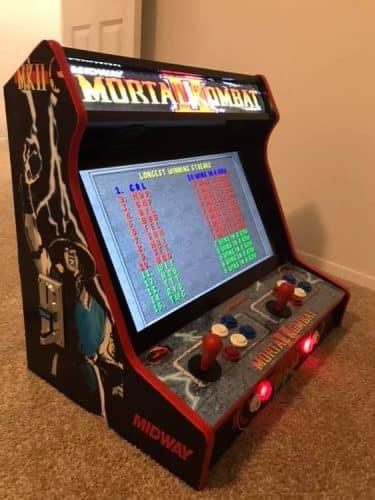 """MK002 375x500 - Bartop 24"""" con diseño personalizado Mortal Kombat -"""