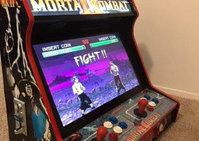 Bartop 24″ with Mortal Kombat custom design