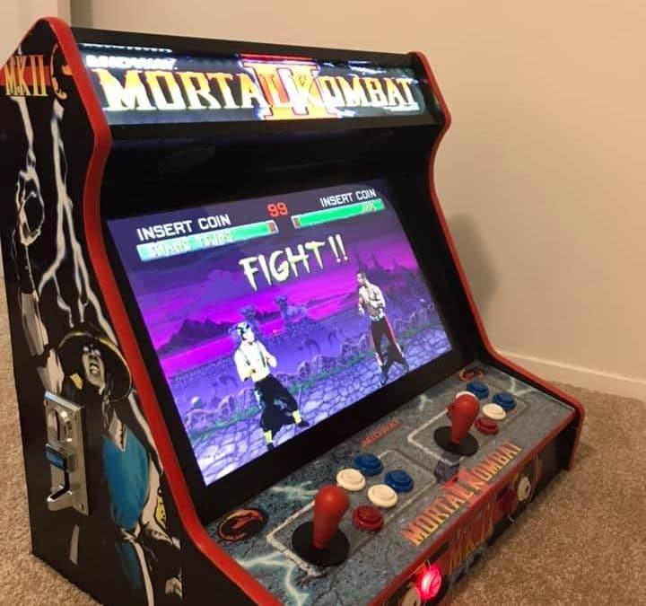 Bartop 24″ con disegno personalizzato Mortal Kombat