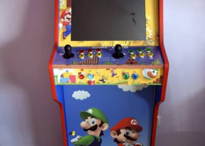 Bartop + Stand with Mario Bros custom design