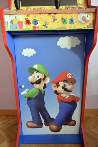 DSC0006 333x500 - Bartop + Piedistallo con design personalizzato di Mario Bros -