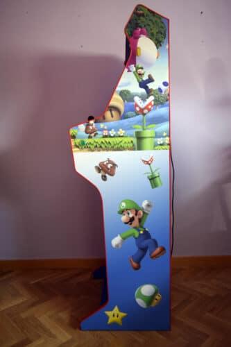 DSC0008 333x500 - Bartop + Piedistallo con design personalizzato di Mario Bros -