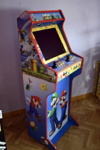 DSC0011 333x500 - Bartop + Piedistallo con design personalizzato di Mario Bros -