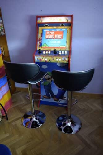 DSC0023 333x500 - Bartop + Piedistallo con design personalizzato di Mario Bros -