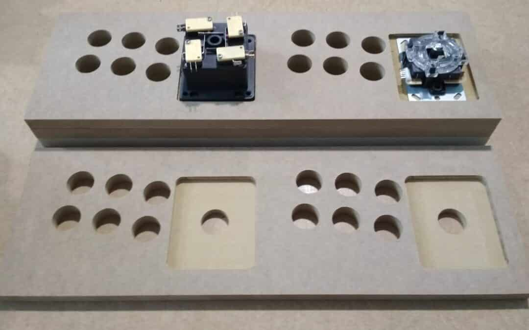 Improvement in the control panels of the bartop TALENTEC