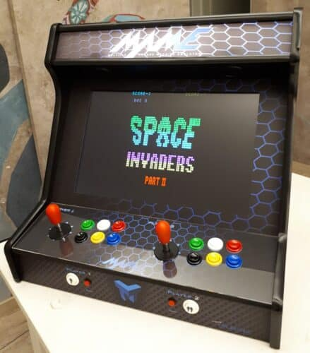 """20181108 183401 439x500 - Bartop 24"""" with MAME vinyl and Button Kit One of Each -"""