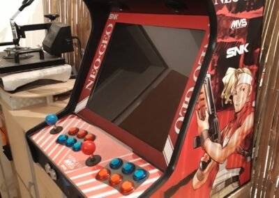 Bartop 19″ with Metal Slug vinyl