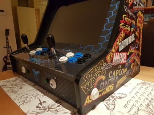 """20190226 193207 500x375 - Bartop 19"""" with MAME design -"""