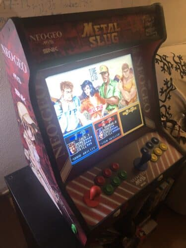 "image2 375x500 - Bartop 19"" with Metal Slug Vinyl -"