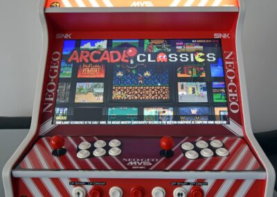 "Bartop 24 ""con Metal Slug in vinile"