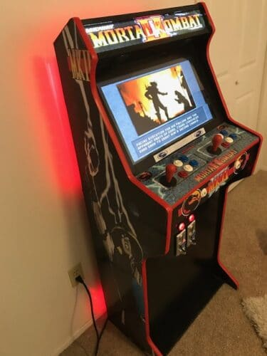 "IMG 2845 375x500 - Bartop 24"" + Pedestal with Mortal Kombat custom design -"